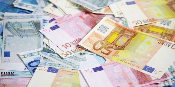 Bündel von Geldscheine