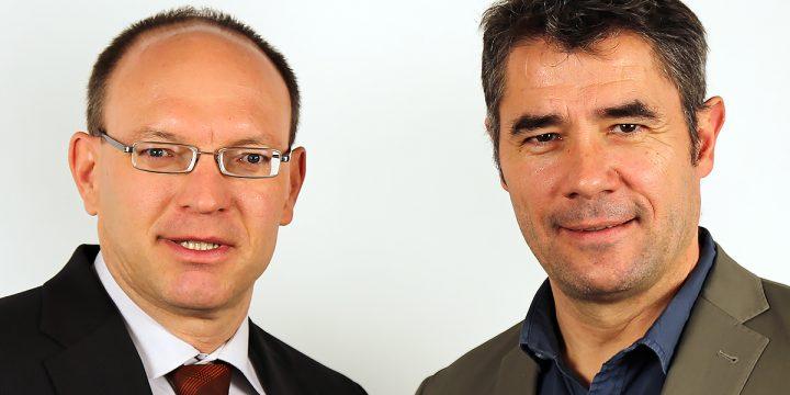 Foto Gerhard Pöll und Marc Harbauer