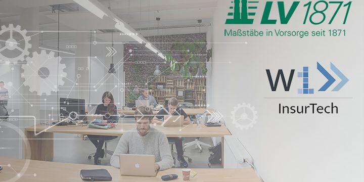 Menschen die in einem Büro sitzen und arbeiten