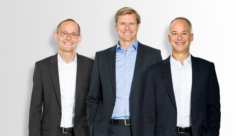 Foto Dr. Klaus Math, Hermann Schrögenauer, Wolfgang Reichel