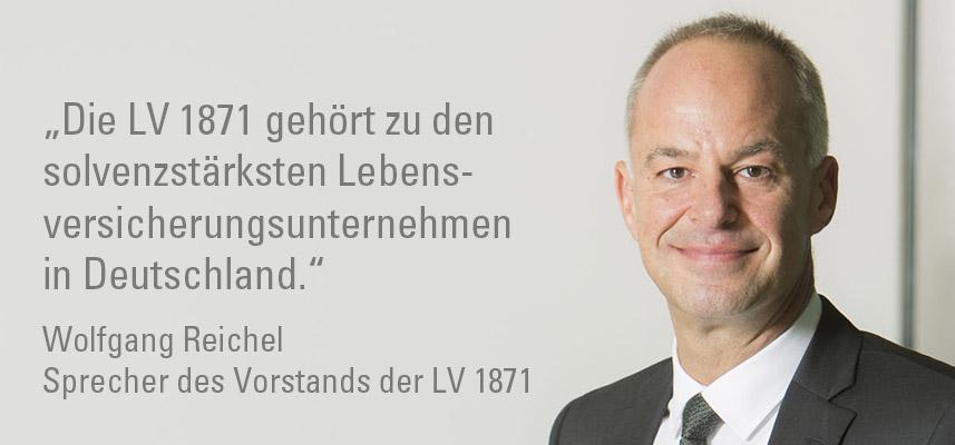 Zitat und Bild von Wolfgang Reichel