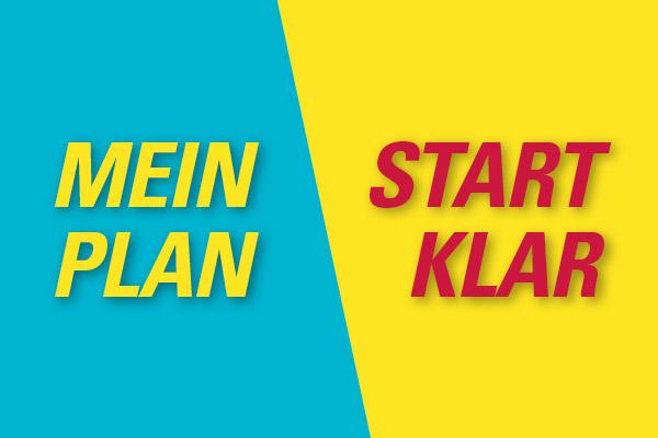 MeinPlan StartKlar Plakat