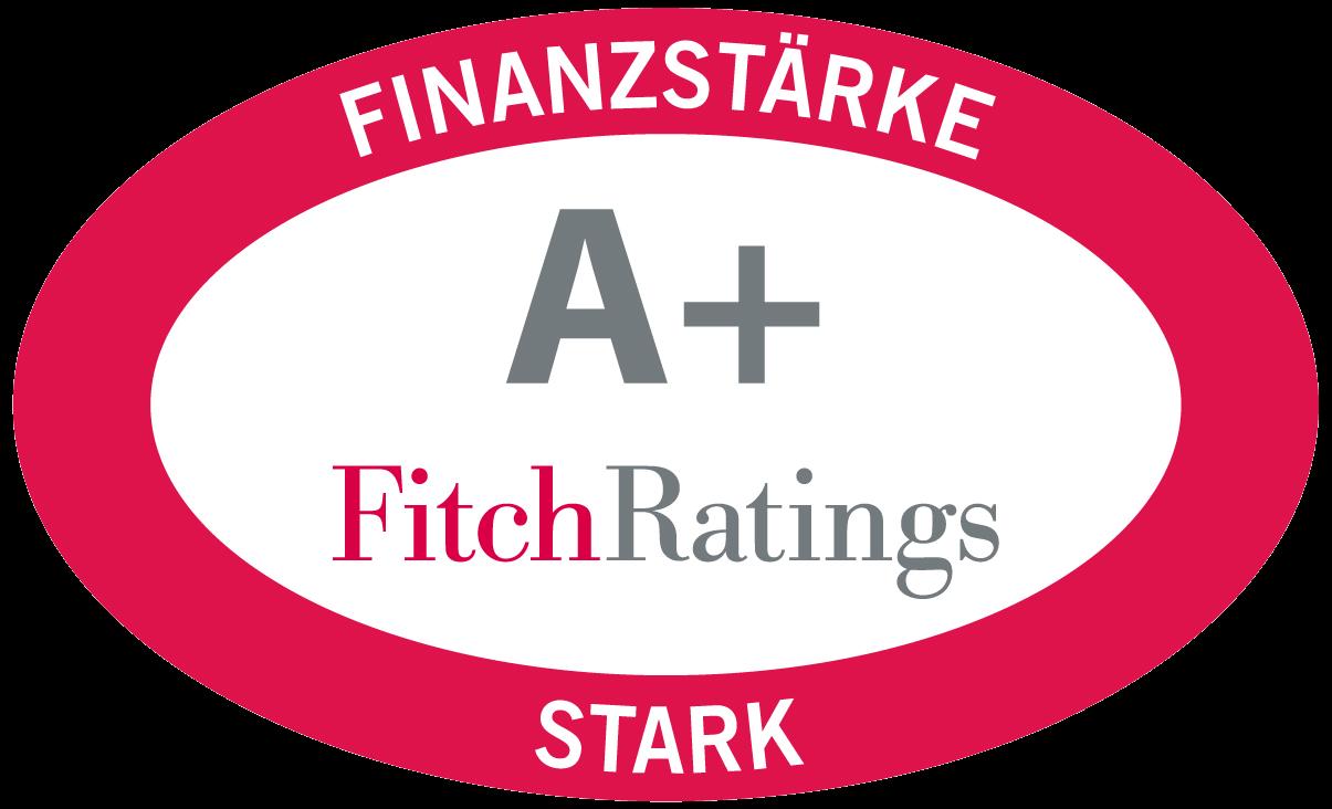 Auszeichnung Fitch: A+ Stark