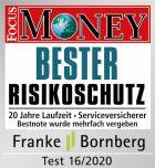 Auszeichnung Focus Money Bester Risikoschutz