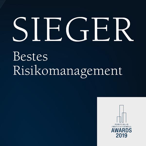 Verleihung Bestes Risikomanagement