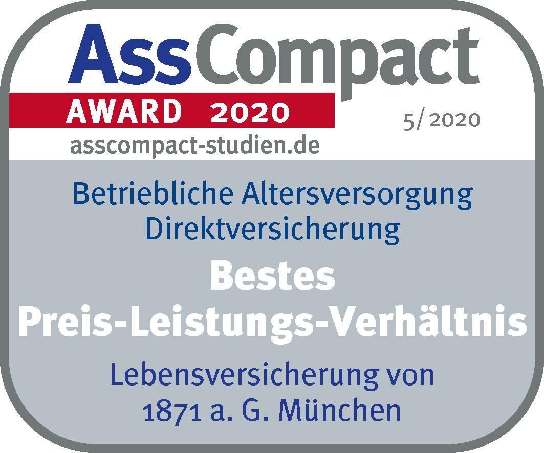 Auszeichnung AssCompact Direktversicherung