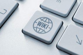 Wiki auf Tastatur