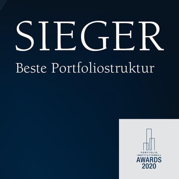 Institutionell Award 2020 Sieger