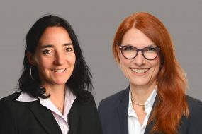 Silke Mallwitz und Cordula Vis-Paulus
