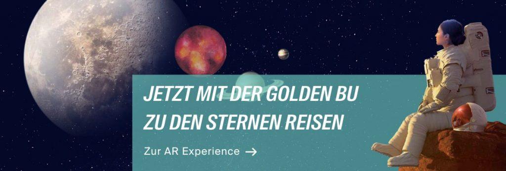 Mehr erfahren zur neuen Golden BU AR-Kampagne